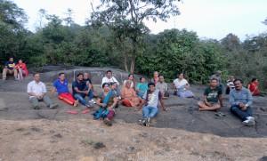 Our Team at Kavishaila- Kuppali
